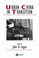 Download Urban China in Transition (Studies in Urban and Social Change)