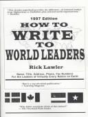How to Write to World Leaders