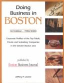 Doing Business in Boston (2nd Edition)