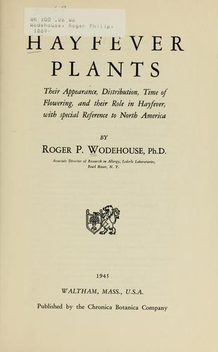 Hayfever plants