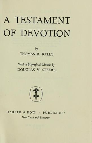 Download A testament of devotion