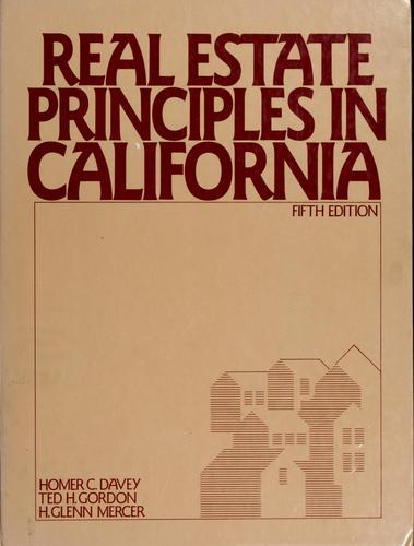 Download Real estate principles in California