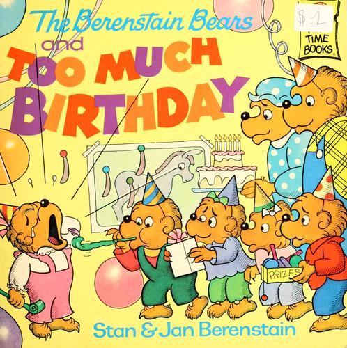 Download The Berenstain bears and too much birthday