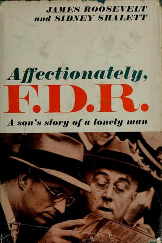 Affectionately, F.D.R.