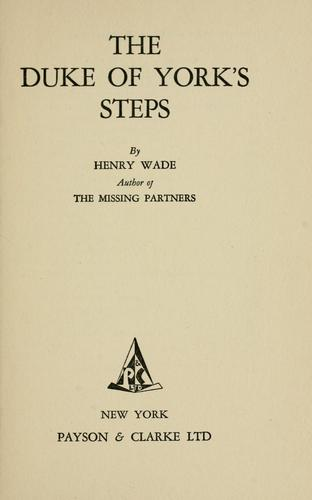 The Duke of York's Steps by Henry William Rawson Wade