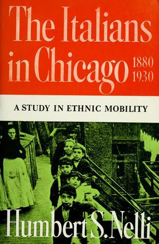 Italians in Chicago, 1880-1930