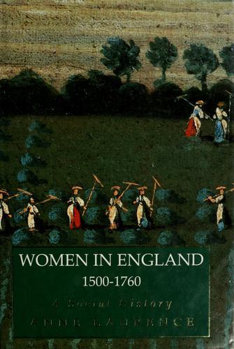 Women in England, 1500-1760