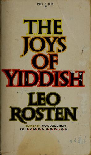 Download The joys of Yiddish