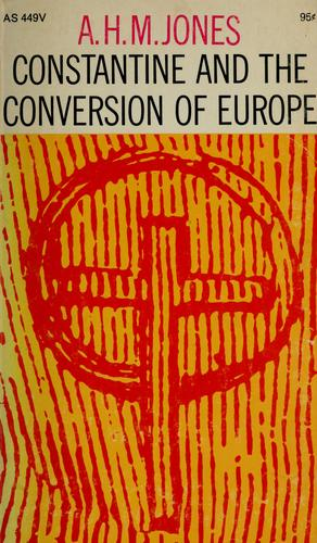 Download Constantine and the conversion of Europe.