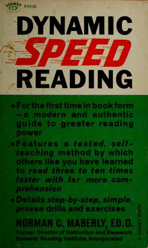 Dynamic Speed Reading Norman C. Maberly