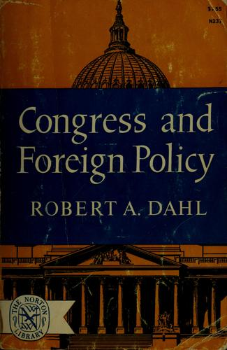 Congress and foreign policy.