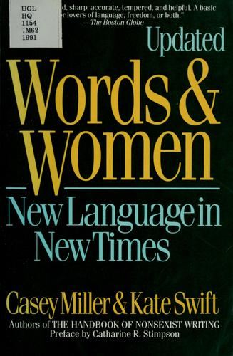 Words and women