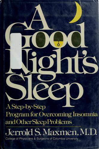 Download A good night's sleep