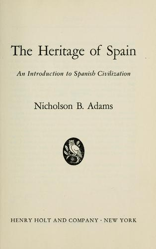 Download The heritage of Spain