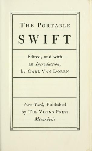 Download The portable Swift