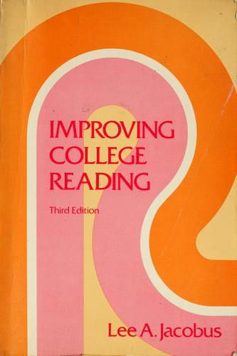 Download Improving college reading