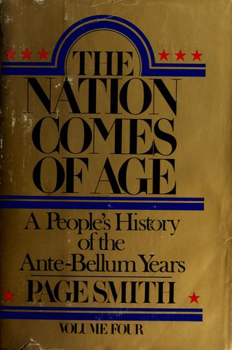 The nation comes of age