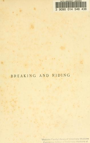 Download Breaking and riding
