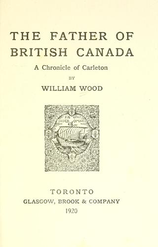 Download The father of British Canada
