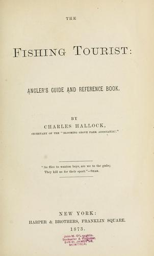 The fishing tourist