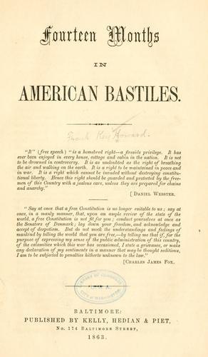 Fourteen months in American bastiles …