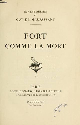 Download Fort comme la mort.