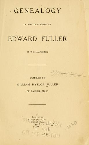 Download Fuller genealogy …
