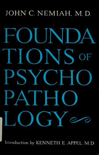 Foundations of psychopathology.