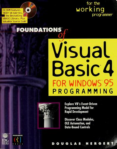 Foundations of Visual Basic 4 for Windows 95 programming
