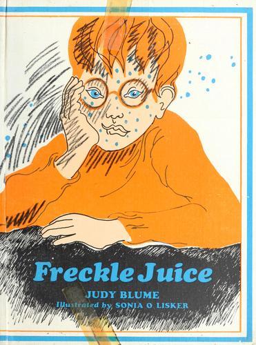 Freckle juice.