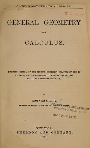 A general geometry and calculus