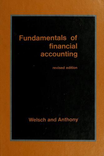 Download Fundamentals of financial accounting