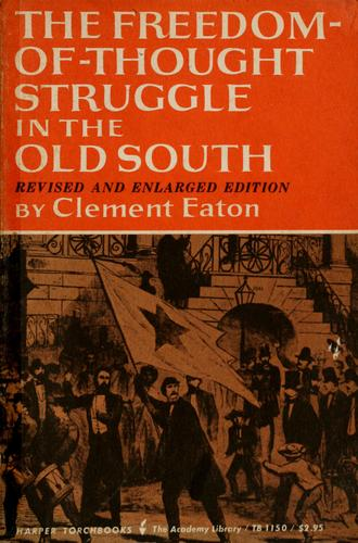 Download The freedom-of-thought struggle in the Old South