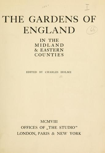 Download The gardens of England in the midland & eastern counties.