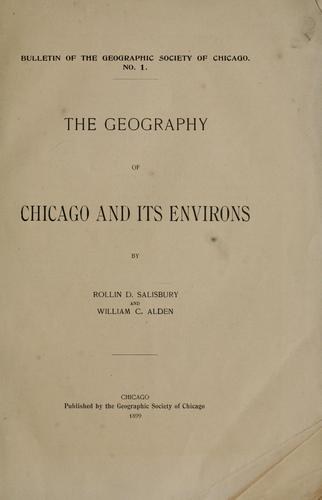 Download The geography of Chicago and its environs