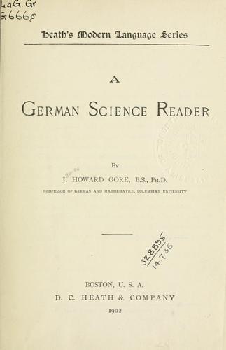 A German science reader.