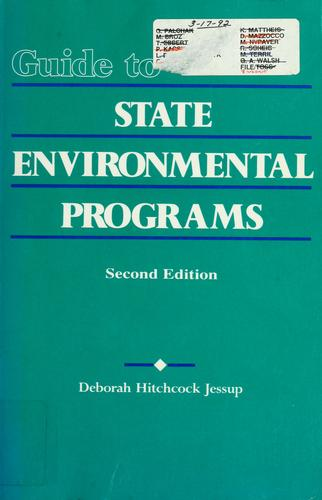 Guide to state environmental programs