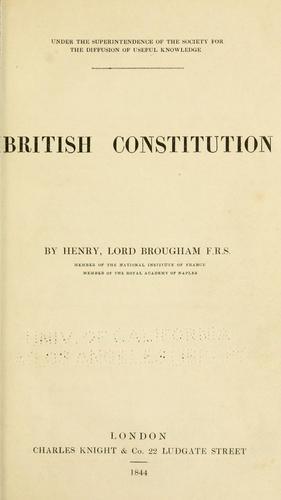 British constitution.