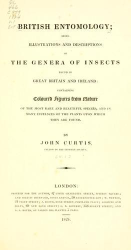 Download British entomology