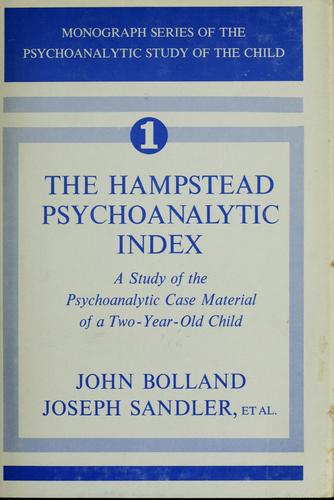 Download The Hampstead psychoanalytic index