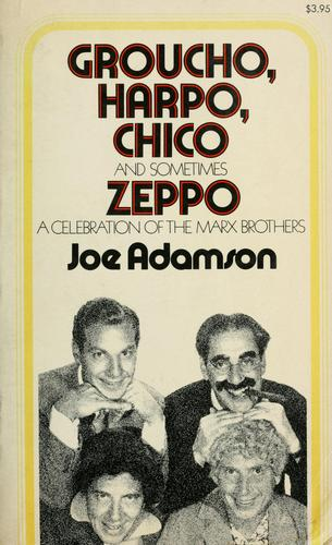 Download Groucho, Harpo, Chico, and sometimes Zeppo