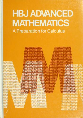 HBJ advanced mathematics