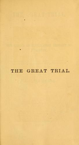 Download The great trial