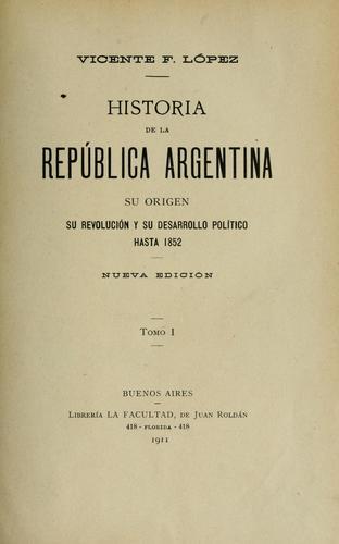 Download Historia de la República Argentina