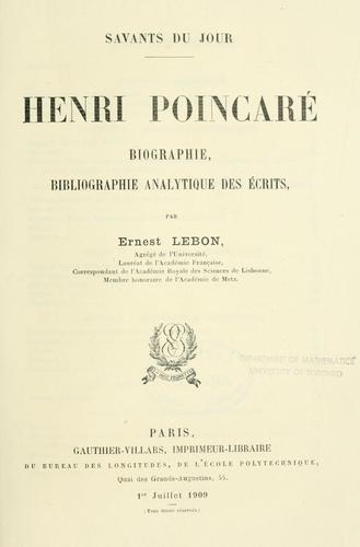 Download Henri Poincaré