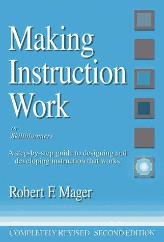 Download Making instruction work, or, Skillbloomers