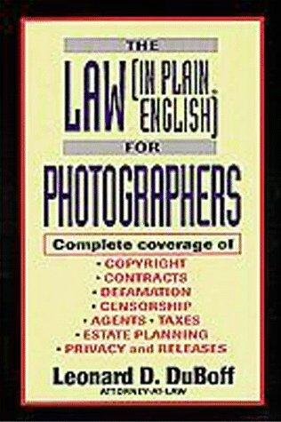 Download The law (in Plain English) for photographers