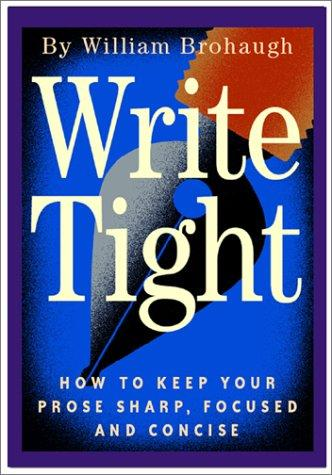 Download Write tight
