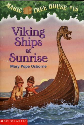 Viking Ships at Sunrise
