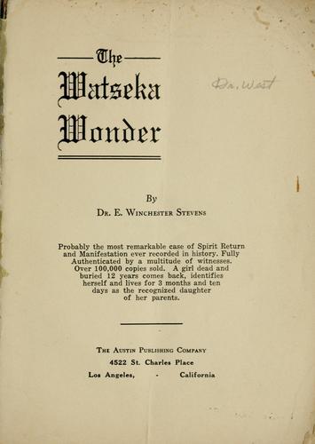 The Watseka Wonder